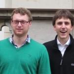 Gruppenbild des Vorstandes 2011/2012: Philipp Stiel, Benedikt Nufer, Tom-Michael Hesse und Simeon Reusch (v.l.)