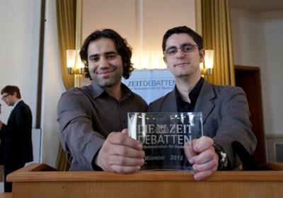 Michael Saliba und Igor Gilitschenski aus Stuttgart (Foto: M. Adams)