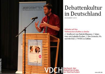 2012-12 VDCH_Newsletter Dezember Titel