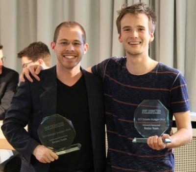 Süddeutsche Meister Konrad Gütschow und Nikos Bosse (c) Florian Umscheid