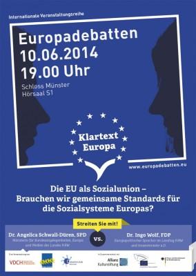 Plakat-Münster