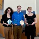 Sieger in Mainz: Sarah Kempf, Marcel Giersdorf, Anna Mattes (vlnr). Foto: Michael Schindler