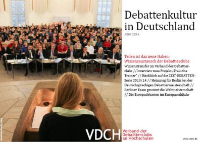 VDCH Newsletter Juni 2014