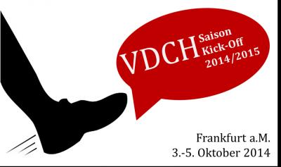 2014 Kick-Off Logo mit Frankfurt