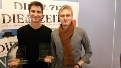 Ruben Brandhofer und Marc-André Schulz gewinnen die ZEIT DEBATTE Göttingen