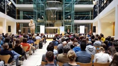 Finale der ZEIT DEBATTE Berlin im Atrium des Willy-Brandt-Hauses (c) Ehlers