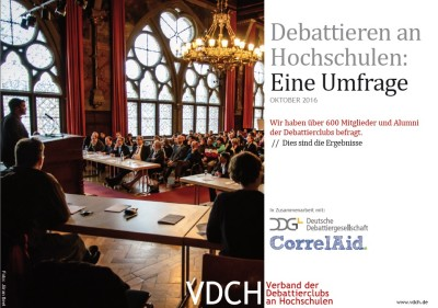 Debattierumfrage Kurzfassung Cover