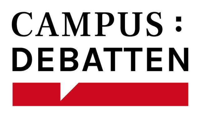 Logo der Campus Debatten